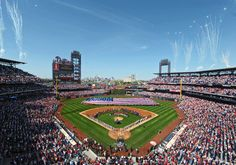 Citizens Bank Park opened its doors for the first game of the 2012 Phillies season today.