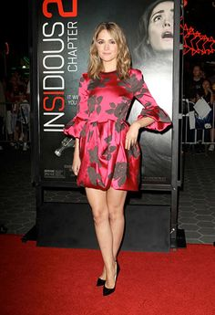 This is the 22nd Women of the Week of 2015 is Rose Byrne on the red carpet