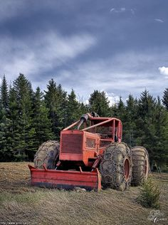 Hdr photo of a Timberjack