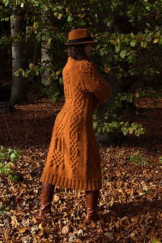 Ravelry: Andarta - Celtic Cabled Coat pattern by Anna-Sophia Maré