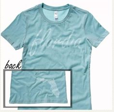 #florida #tshirt #ilovemystate http://washedtee.com/shop/womens/t-shirts-tanks/washed-favorite-t-shirt/