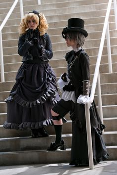 Is this our path? by ChEsHiRe-K on - COSPLAY IS BAEEE! Tap the pin now to grab yourself some BAE Cosplay leggings and shirts! From super hero fitness leggings, super hero fitness shirts, and so much more that wil make you say YASSS! Black Butler Cosplay, Black Butler 3, Black Butler Anime, Epic Cosplay, Cosplay Outfits, Cosplay Costumes, Cosplay Ideas, Deviantart Cosplay, Colleen Atwood