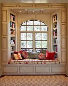 The Sweet Bookshelf: Reading Nooks