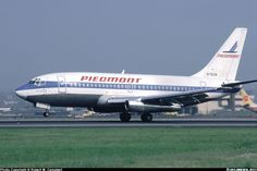 Piedmont Airlines, Boeing 737 - The Good Old days.  Best airline ever.