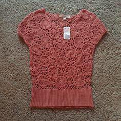 NWT Forever 21 Knit Top NWT Forever 21 blush knit top. Size small. Forever 21 Tops