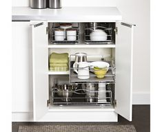 simple human |pull-out cabinet organiser  I love this range