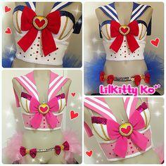 Custom Order for Nicole & Friend - SAILOR MOON Costumes