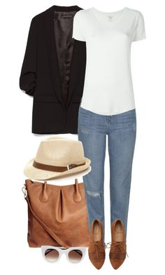 """Afternoon Ease"" by sultrysalem on Polyvore featuring Zara, H&M, Topshop, Majestic Filatures and Thierry Lasry"