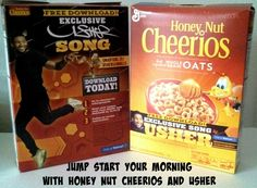 Jump Start Your Morning with Honey Nut Cheerios and Usher