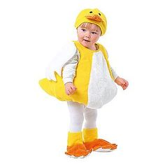 Totally Ghoul -Duck Vest Toddler Halloween Costume
