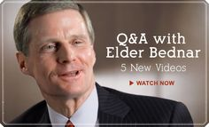 Elder Bednar sits down with LDS couples and answers questions about personal improvement and coming closer to Christ in five new videos.