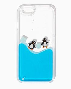 charming charlie | Penguin Party iPhone 6/6+ Case | UPC: 100238526 #charmingcharlie