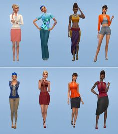 Netz-à-porter – outfits ready to wear for your sims (no CC required) - Page 10 Sims 1, Sims 4 Mods, Equestria Girls, Powerpuff Girls, The Sims 4 Packs, Sims 4 House Design, Sims 4 Characters, Sims Four, Sims 4 Clothing