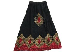 Summer Hippie Skirts, Batik Printed Black Red Gypsy Bohemian Skirt Mogul Interior,http://www.amazon.com/dp/B00DCRQM9G/ref=cm_sw_r_pi_dp_i3Njsb08DNX1FGR7