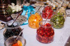Buffet de frutas e doces - Ambientes Perfeitos