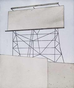 Ed Ruscha – Your Space on Building, etching, 2006