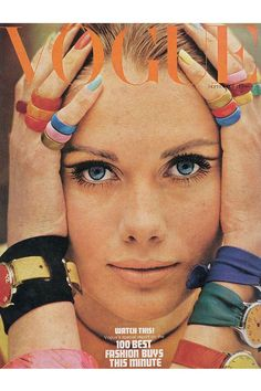 Vogue cover from September 1966