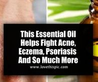 This Essential Oil Helps Fight Acne, Eczema, Psoriasis And So Much More