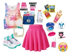 """""""A lil sumthin for my gurl Tia"""" by nevaeh17-1 ❤ liked on Polyvore featuring Victoria's Secret, NIKE, Casetify, Hard Candy, BaubleBar, Bobbi Brown Cosmetics, Essie, PhunkeeTree, women's clothing and women's fashion"""