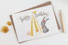 Happy Birthday, Bunny - 10 Greeting Cards