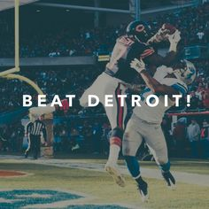 Final push! Let's go @chicagobears