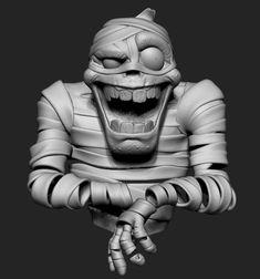 ArtStation - The mummy, Gabriel Cruz