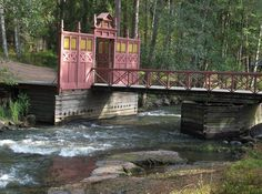 The bridge to the imperial fishing lodge of the tsar of Russia in Langinkoski | by EilaK: Visit my nice galleries too!