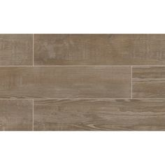 """Found it at Wayfair - Hamptons 8"""" x 36"""" Porcelain Wood Tile in Taupe"""