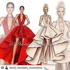 Red or Nude ? What's your choice ? Tag your Friends. Thanks 😘😘. by Fashion Illustration Dresses, Fashion Illustration Sketches, Fashion Sketches, Fashion Design Sketchbook, Fashion Design Drawings, Clothing Sketches, Dress Sketches, Corset Pattern, Vs Fashion Shows