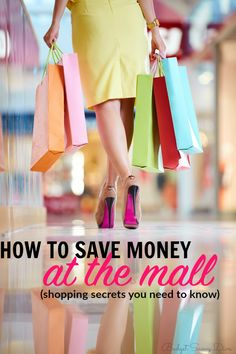 How To Save Money At The Mall | Budget Savvy Diva