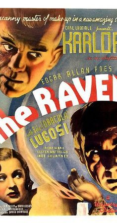 Directed by Lew Landers.  With Boris Karloff, Bela Lugosi, Lester Matthews, Irene Ware. A brilliant surgeon obsessed with Poe saves the life of a beautiful dancer and goes mad when he can't have her.