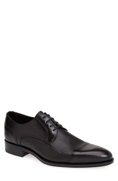 Canali Cap Toe Derby (Men) available at #Nordstrom