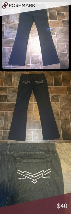 Michael Kors Jeans Barely worn, no signs of wear. Size 4. Dark wash. Silver hardware. Michael Kors Jeans