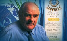 Michel Roux portrait Bombay Sapphire ad [VAUGHAN: ASK THE BOMBAY ARCHIVE FOR THIS]