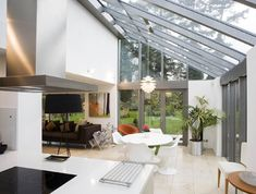 Roof Glass Extension