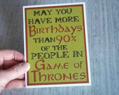 "Game of Thrones Card | 27 Items Every Die Hard ""Game Of Thrones"" Fan Should Own"