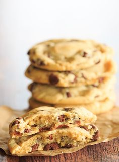 "My very favorite ""everyday"" chocolate chip cookie recipe! 