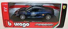 #Burago 1/24 #scale 18-26304 - ferrari 360 #challenge - blue,  View more on the LINK: http://www.zeppy.io/product/gb/2/401208990944/