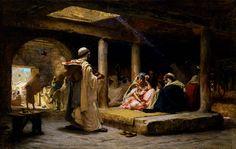 19th century American Paintings: Frederick Arthur Bridgman, ctd