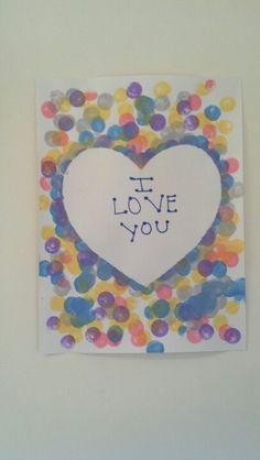 Toddler art # Valentine's day