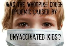 Reported cases of pertussis in Reno County, KS, include children who have been vaccinated against the disease.