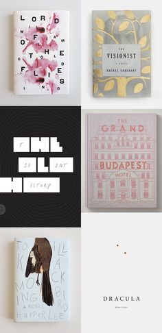 Six lovely book covers   SMÄM