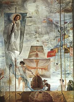 """The Dream of Christopher Columbus"" by Salvador Dali"