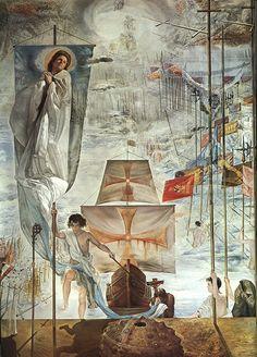 """O Sonho de Cristóvão Colombo """", de Salvador Dali"""