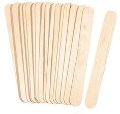 Spatolette di legno, 150x18 mm, 100 pezzi
