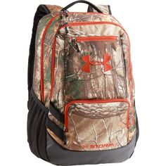 3dc0e1cf29 Buy Under Armour UA Camo Hustle Backpack One Size Fits All Realtree AP-Xtra  Camo at online store