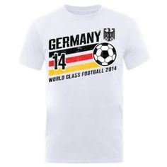 World Cup Football 2014 Germany Stripes T-Shirt available at http://www.world-cup-products-worldwide.com/world-cup-football-2014-germany-stripes-t-shirt/