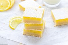 Classic Lemon Bars With Shortbread Crust Recipe – buttery crust and fresh and tangy lemon curd on top. Simple dessert, you can make any time of the year! I can't believe it, but I did not crave sweets almost throughout my entire pregnancy. I didn't even have cravings for savory foods! I say almost, because …