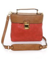 Candy Tin Brown and Red Handbag