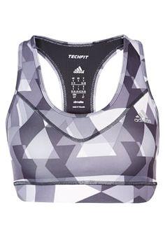 TECHFIT - Sport BH - black/silver